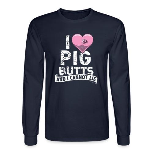 Cannot Lie Men's Shirt - Men's Long Sleeve T-Shirt