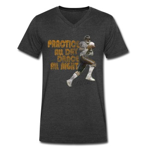 Willie Practice Dance - Men's V-Neck T-Shirt by Canvas