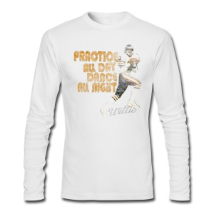 Willie Practice Dance - Men's Long Sleeve T-Shirt by Next Level
