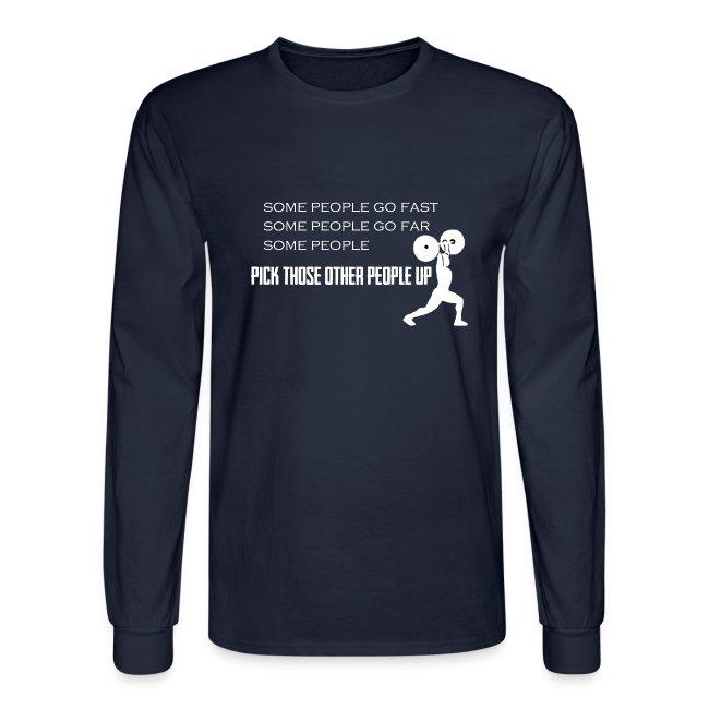 Pick People Up Men's Shirt