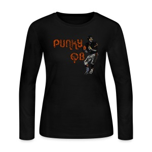 Punky QB - Women's Long Sleeve Jersey T-Shirt