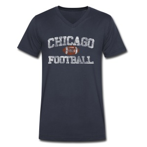 Chicago Football 1919 - Men's V-Neck T-Shirt by Canvas