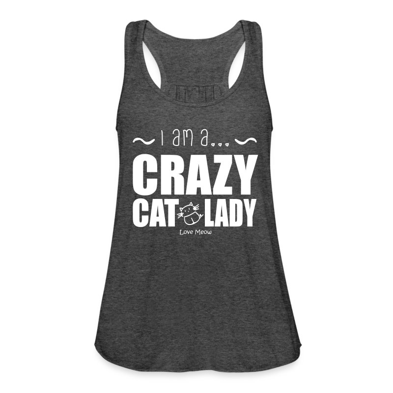 Women's Flowy Tank Top by Bella - whiskers,whisker,shelter,meow,love meow,love,kittens,kitten,feline,crazy cat lady,cats,cat lady,cat