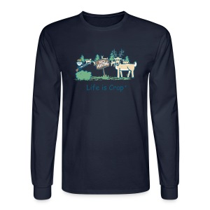 No Hunting - Mens Longsleeve T-shirt - Men's Long Sleeve T-Shirt
