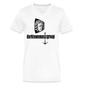 Dark Town Music Group V Tee - Men's V-Neck T-Shirt by Canvas