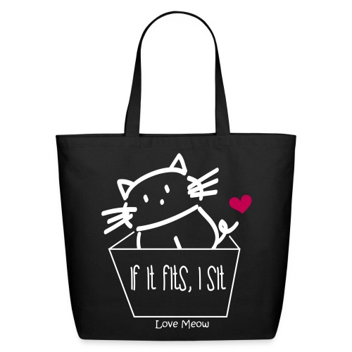 Eco-Friendly Cotton Tote - whiskers,whisker,shelter,meow,love meow,love,kittens,kitten,feline,crazy cat lady,cats,cat lady,cat