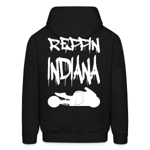 S&S REPPIN INDIANA WHITE - Men's Hoodie