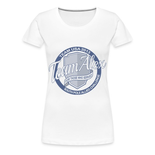 Team Alex For Those Who Served - Women's T-Shirt - Women's Premium T-Shirt