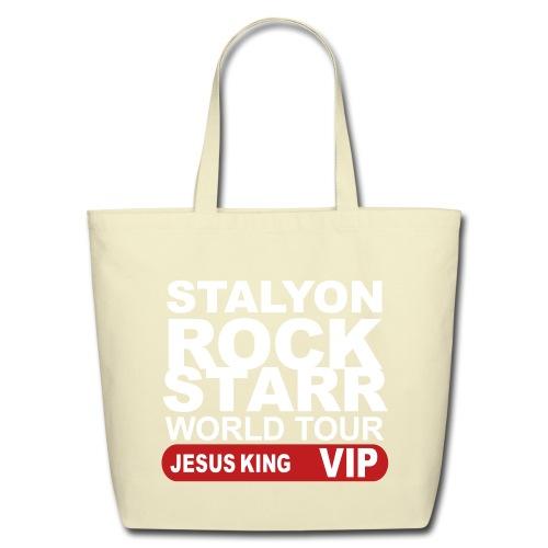 STALYON ROCK STARR JESUS VIP - Eco-Friendly Cotton Tote