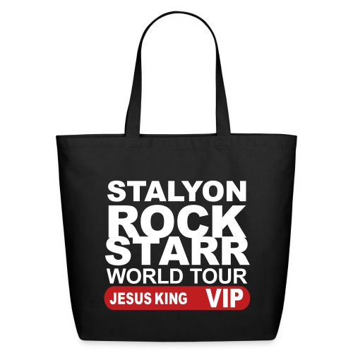 STALYON ROCK STARR JESUS VIP - Eco-Friendly Cotton Tote
