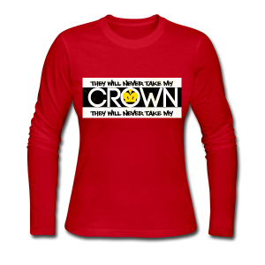 LADYS CROWN - Women's Long Sleeve Jersey T-Shirt