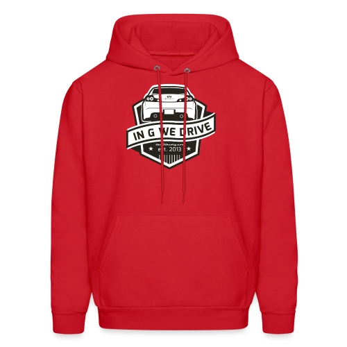 In G We Drive - G35 coupe - Men's Hoodie