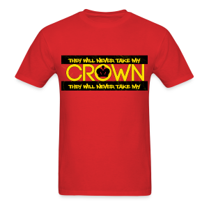MEN CROWN GOLD - Men's T-Shirt