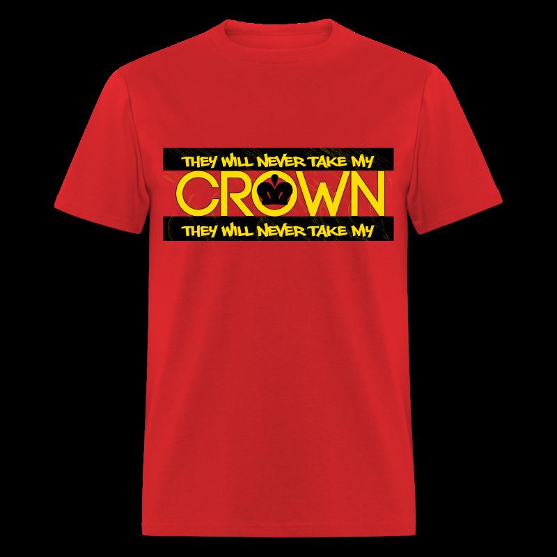 MEN CROWN GOLD - Men's T-Shirt