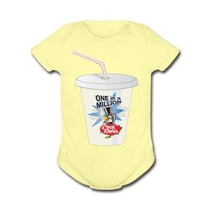 Cock Robin Milk Shake Baby Shirt - Short Sleeve Baby Bodysuit