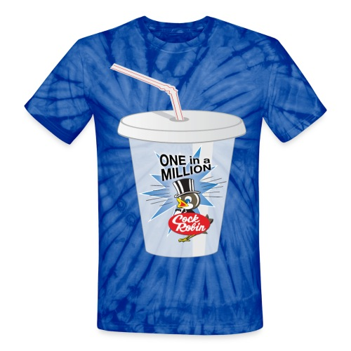 Cock Robin Milk Shake Unisex Tie Dye Tee - Unisex Tie Dye T-Shirt
