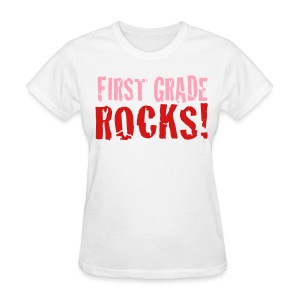 1st grade Rocks-white - Women's T-Shirt