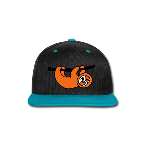 Sloth Snapback - Snap-back Baseball Cap