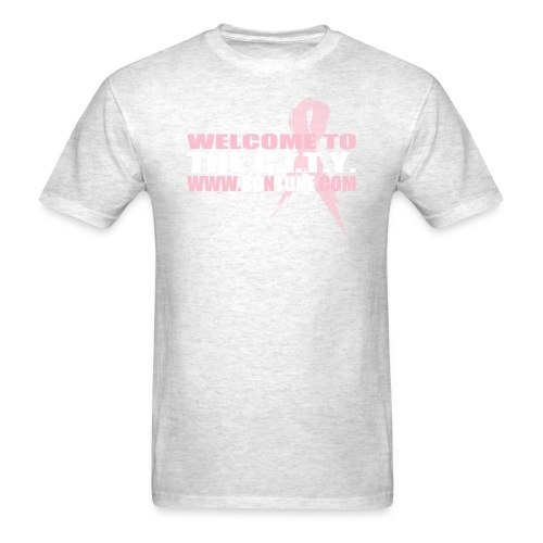 The C.I.T.Y. Breast Cancer Awareness Tee - Men's T-Shirt
