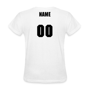 1st Grade Team-Customize Back With Name black  - Women's T-Shirt