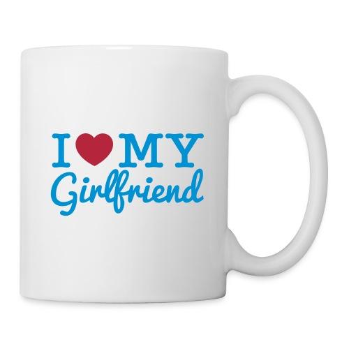I Love My Girlfriend (Mug) - Coffee/Tea Mug
