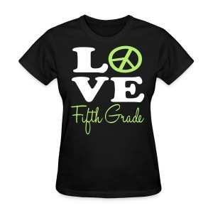 Peace Love 5th - Women's T-Shirt