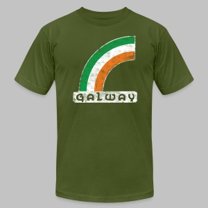 Galway Rainbow - Men's T-Shirt by American Apparel