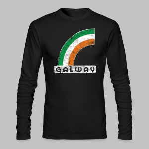 Galway Rainbow - Men's Long Sleeve T-Shirt by Next Level