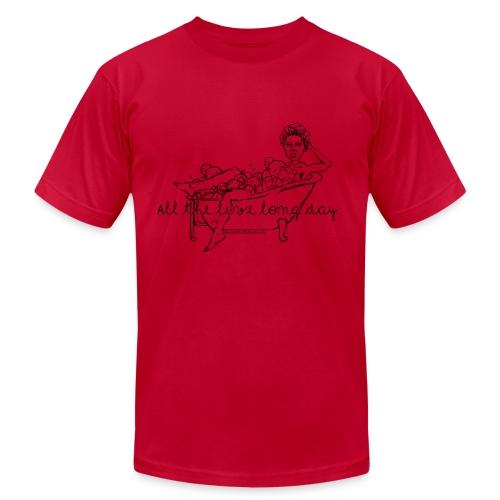 Harriet Tubman Time - Men's Blue T-Shirt - Men's Fine Jersey T-Shirt