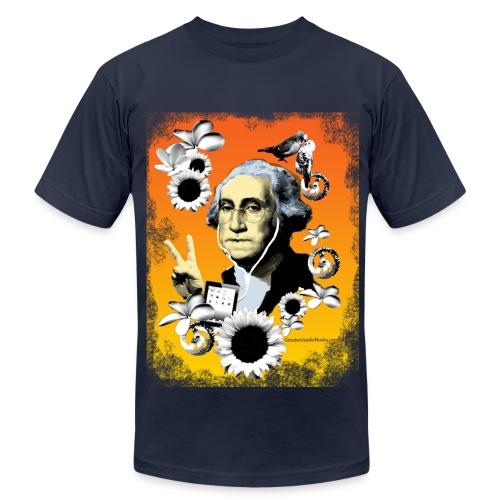 George O'Clock Men's Navy T-shirt - Men's Fine Jersey T-Shirt