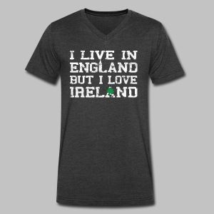 Live England Love Ireland - Men's V-Neck T-Shirt by Canvas