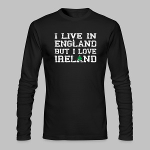 Live England Love Ireland - Men's Long Sleeve T-Shirt by Next Level