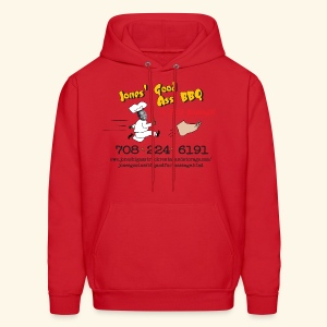 Jones Good Ass T-Hoody - BBQ  Sauce Red - Men's Hoodie