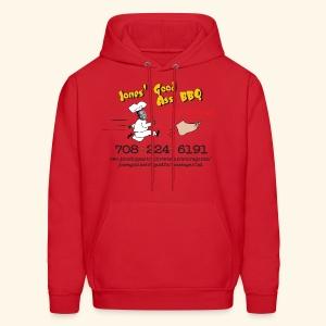 Jones Good Ass T-Hoody - BBQ  Sauce Red - Men's Hoodie