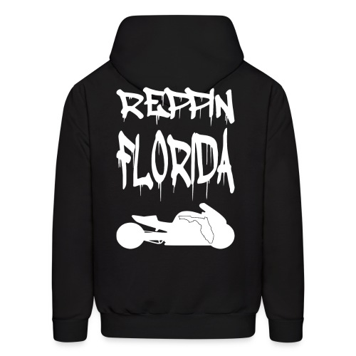 S&S REPPIN FLORIDA WHITE - Men's Hoodie