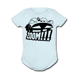 Batmobile '66 - Onsie - light blue - Short Sleeve Baby Bodysuit