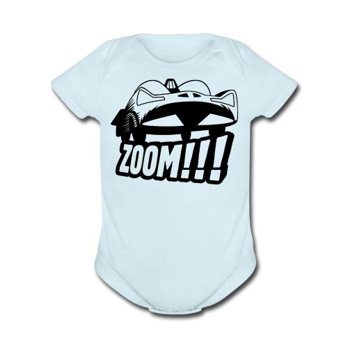 Batmobile '66 - Onsie - light blue - Organic Short Sleeve Baby Bodysuit