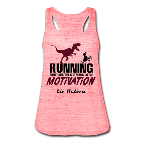 Motivation  - Women's Flowy Tank Top by Bella