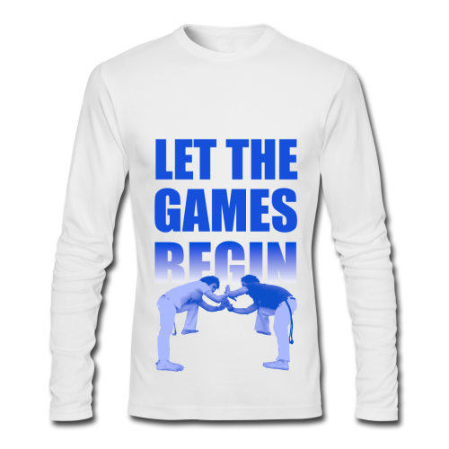 Let The Games Begin - Men's Long Sleeve T-Shirt by Next Level
