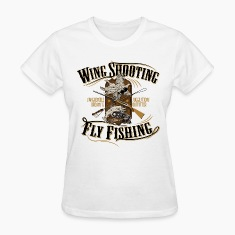 wingshooting_fly_fishing Women's T-Shirts