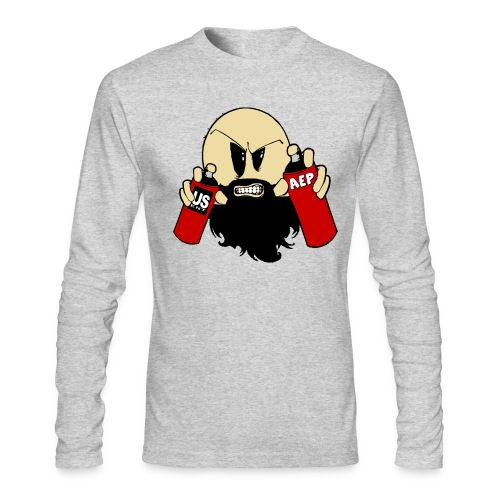 US Ent Enigma Ash - Men's Long Sleeve T-Shirt by Next Level