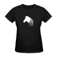 Women's T-Shirts ~ Women's T-Shirt ~ Zebra