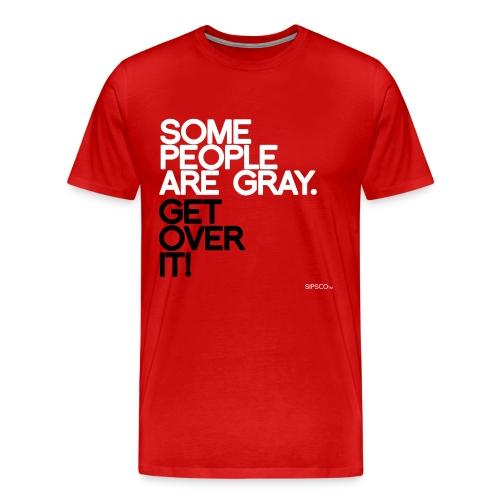 Gray Pride - Men's Tee - Men's Premium T-Shirt