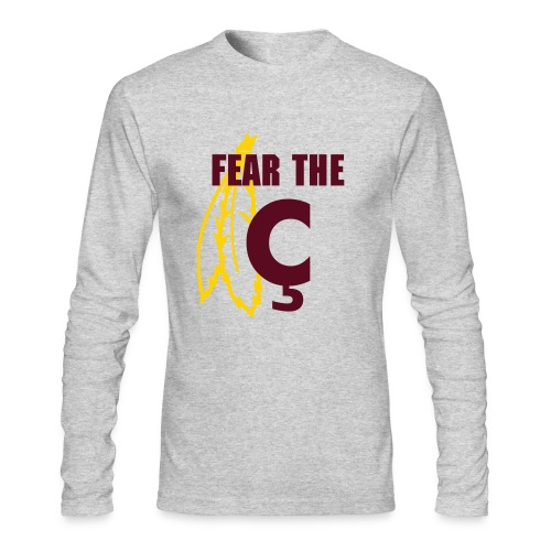 Fear the C - Men's Long Sleeve T-Shirt by Next Level