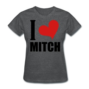I Heart Mitch - Women's T-Shirt