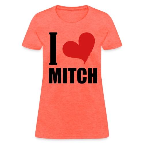 I Heart Mitch - Women's T-Shirt