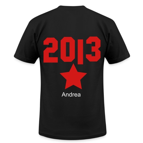 andrea 2013 - Men's  Jersey T-Shirt