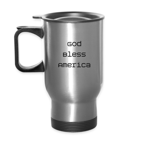 God Bless America Cup - Travel Mug