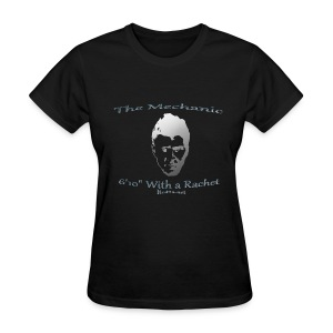 Ladies - The Mechanic - Chandler Parsons - Women's T-Shirt