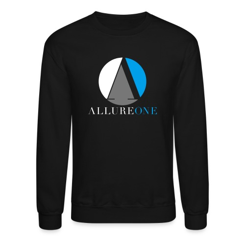 Men's AllureOne Black Crewneck - Crewneck Sweatshirt